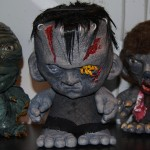 The Creature, FrankenMunny, and WolfMunny