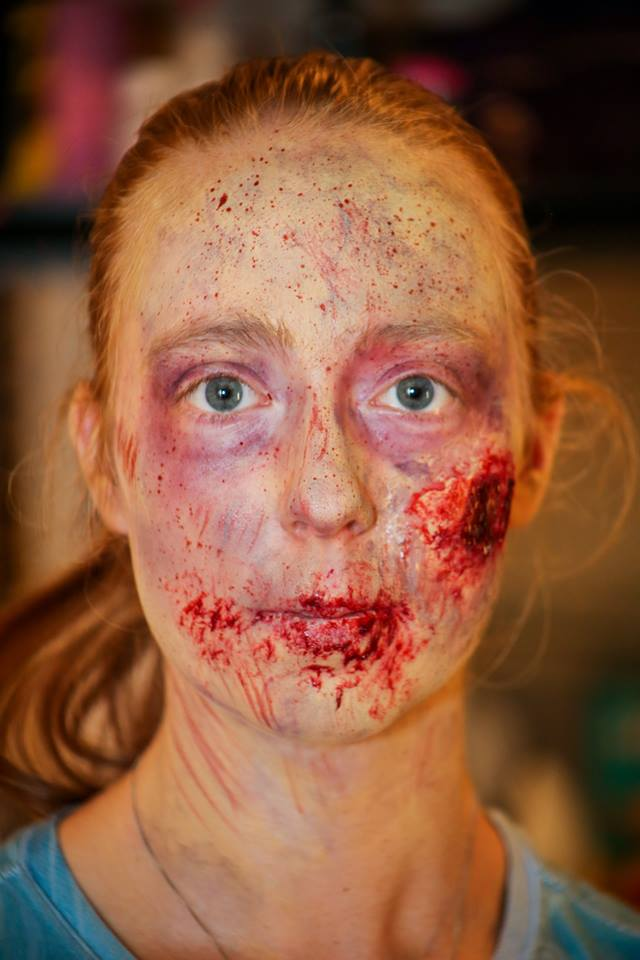 Zombie Crawl Makeup